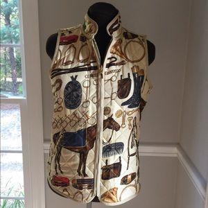 (754). Ralph Lauren Equestrian Vest. Size M